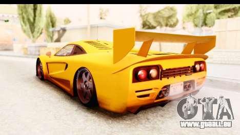 GTA 5 Progen Tyrus SA Style für GTA San Andreas rechten Ansicht