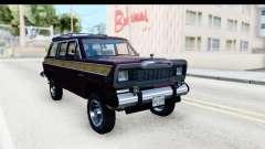 Jeep Grand Wagoneer pour GTA San Andreas