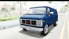 GMC Vandura 1985 White Stripes HQLM