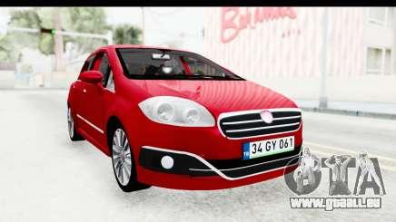 Fiat Linea 2015 v2 pour GTA San Andreas