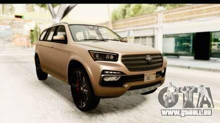 GTA 5 Benefactor XLS IVF pour GTA San Andreas