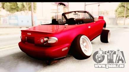 Mazda Miata with Crazy Camber pour GTA San Andreas