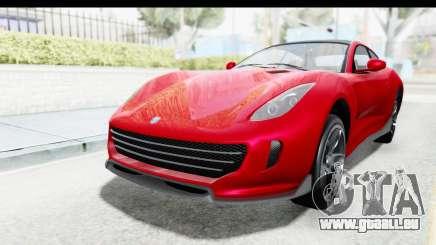 GTA 5 Grotti Bestia GTS with MipMap IVF pour GTA San Andreas