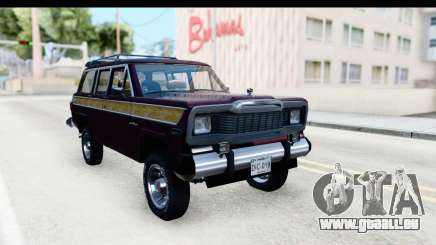 Jeep Grand Wagoneer pour GTA San Andreas