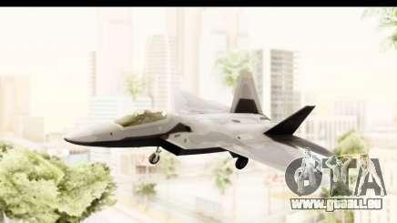 Lockheed Martin F-22 Raptor für GTA San Andreas