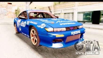Nissan Sileighty 2015 D1GP pour GTA San Andreas