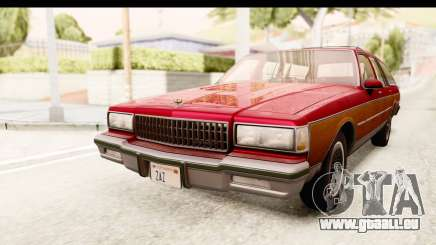 Chevrolet Caprice 1989 Station Wagon IVF pour GTA San Andreas