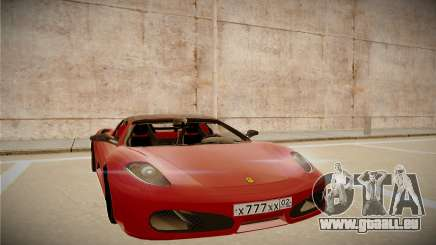 Ferrari F430 Spider für GTA San Andreas