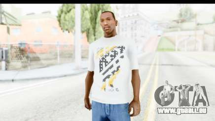 Nike Kyrie Notebook T-Shirt pour GTA San Andreas
