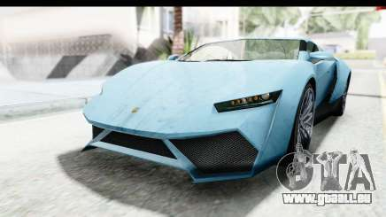 GTA 5 Pegassi Reaper v2 SA Lights pour GTA San Andreas