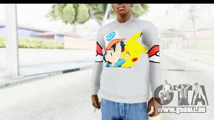Sweat Pokemon Go Pikachu für GTA San Andreas