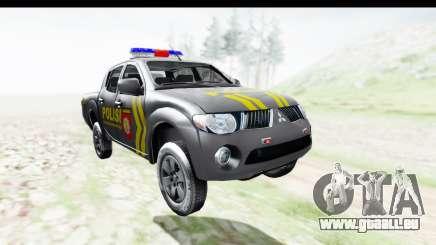 Mitsubishi L200 Indonesian Police pour GTA San Andreas