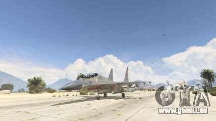 Su-30МКК HQ Chinois pour GTA 5