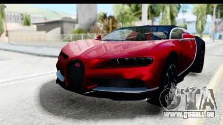 Bugatti Chiron 2017 v2 pour GTA San Andreas