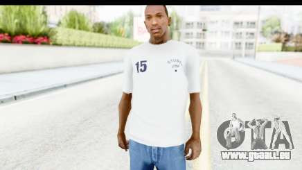Stussy White T-Shirt für GTA San Andreas