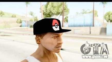 Cap Pokemon Pokeball für GTA San Andreas