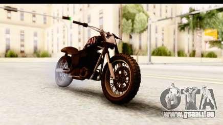 GTA 5 Western Cliffhanger Custom v2 für GTA San Andreas