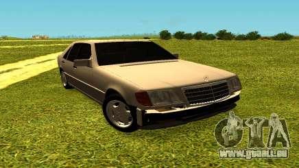 Mercedes Benz W140 pour GTA San Andreas