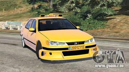 Taxi Peugeot 406 v1.0 für GTA 5