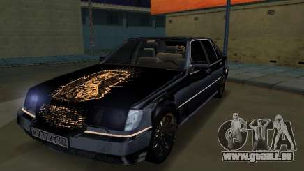 Mersedes-Benz W140 600SEL für GTA San Andreas
