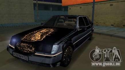 Mersedes-Benz W140 600SEL pour GTA San Andreas