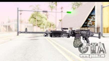 M240 FSK No Attachments für GTA San Andreas