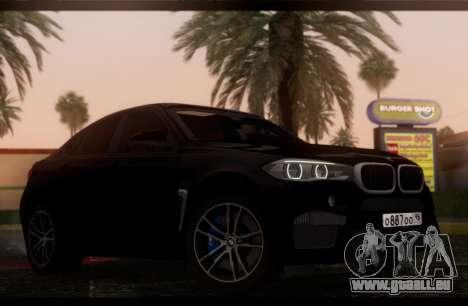 BMW X6M BULKIN SAMP EDITION für GTA San Andreas