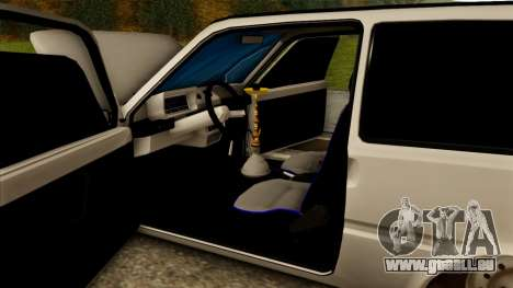 VAZ 1111 pour GTA San Andreas vue de dessus