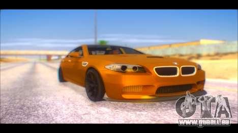 BMW M5 F10 2014 pour GTA San Andreas