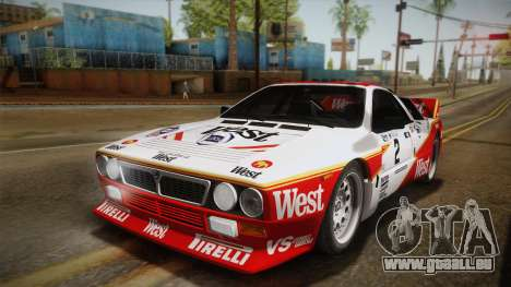 Lancia Rally 037 Stradale (SE037) 1982 IVF Dirt3 pour GTA San Andreas