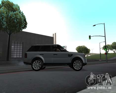 Range Rover Armenian für GTA San Andreas Innenansicht