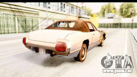 Stallion Sticker Bomb pour GTA San Andreas laissé vue