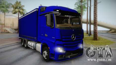 Mercedes-Benz Actros Mp4 v2.0 Tandem Steam pour GTA San Andreas
