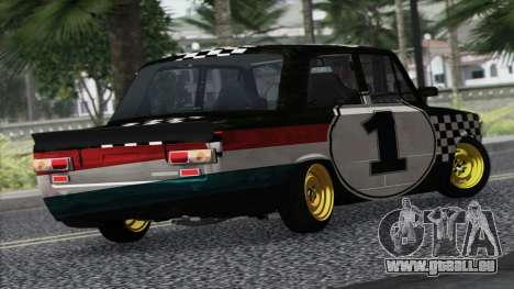 VAZ 2101 ist ein Rennwagen für GTA San Andreas linke Ansicht