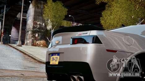 Chevrolet Camaro Z28 2014 für GTA 4 Innenansicht