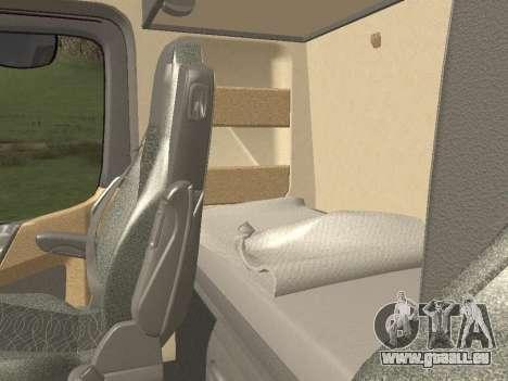Mercedes-Benz Actros Mp4 4x2 v2.0 Steamspace für GTA San Andreas obere Ansicht