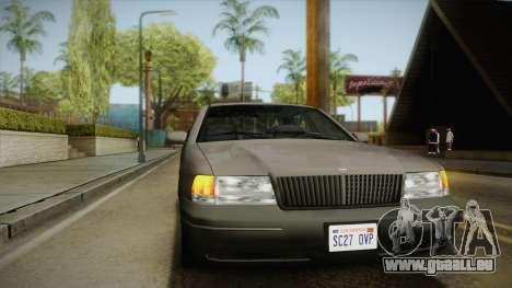 Willard Elegant SA Style für GTA San Andreas Seitenansicht