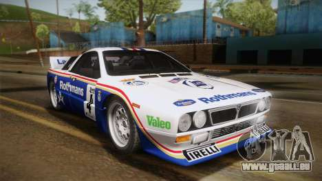Lancia Rally 037 Stradale (SE037) 1982 Dirt PJ2 pour GTA San Andreas vue de droite