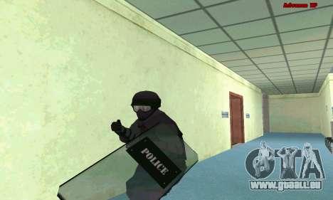 La peau de SWAT GTA 5 (PS3) pour GTA San Andreas deuxième écran