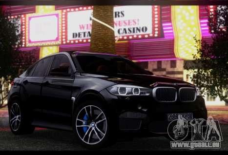 BMW X6M BULKIN SAMP EDITION pour GTA San Andreas laissé vue