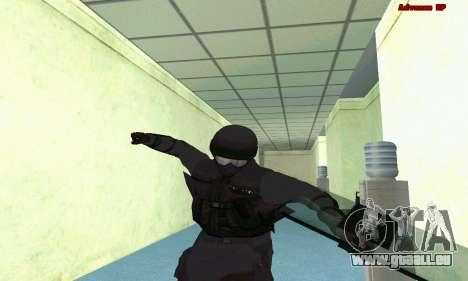La peau de SWAT GTA 5 (PS3) pour GTA San Andreas huitième écran