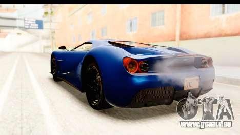 GTA 5 Vapid FMJ SA Style pour GTA San Andreas vue de droite