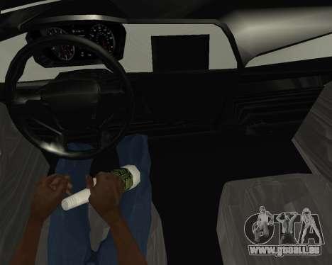 Hyundai Sonata Armenian für GTA San Andreas Rückansicht