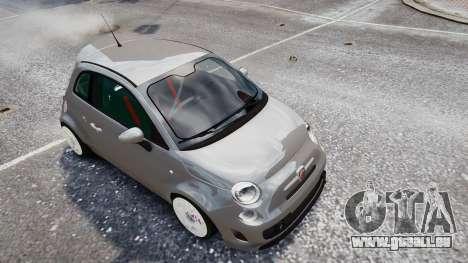 Fiat 500RB für GTA 4 rechte Ansicht