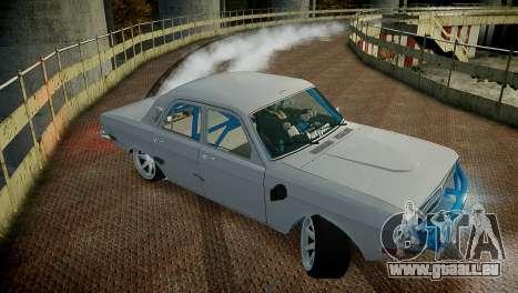 GAZ 24 pour GTA 4 est un côté