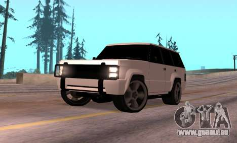 Huntley Rover pour GTA San Andreas
