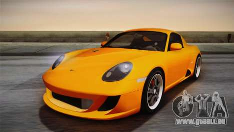 Ruf RK Coupe (987) 2007 IVF pour GTA San Andreas