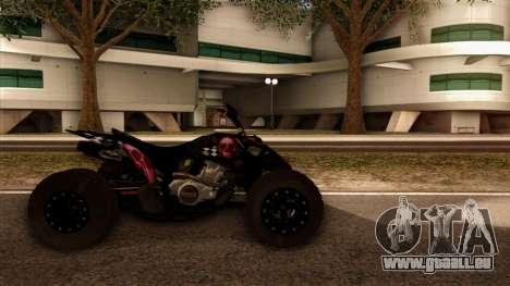 Quad Graphics Skull für GTA San Andreas zurück linke Ansicht