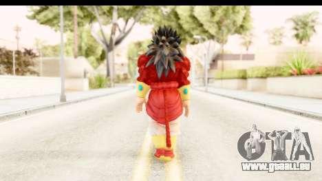 Dragon Ball Xenoverse Broly SSJ4 für GTA San Andreas dritten Screenshot