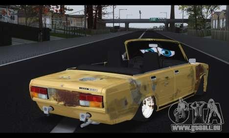 2107 Pauvre gars pour GTA San Andreas sur la vue arrière gauche
